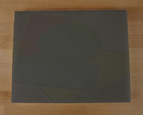 Chopping Board in Polyethylene rectangular 40X50 cm slate-effect black - thickness 10 mm