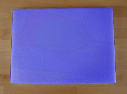 Chopping Board in Polyethylene rectangular 30X40 cm blue - thickness 10 mm