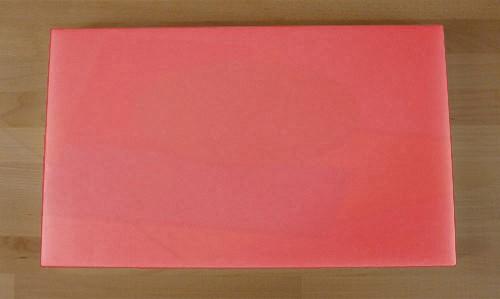 Chopping Board in Polyethylene rectangular 30X50 cm red - thickness 15 mm