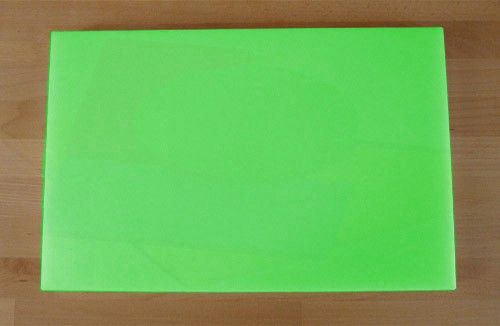 Chopping Board in Polyethylene rectangular 40X60 cm green - thickness 15 mm