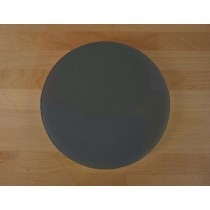 Chopping Board in Polyethylene round diameter 50 cm slate-effect black - thickness 15 mm