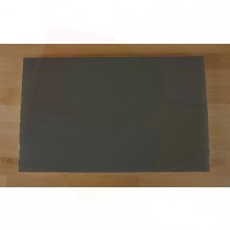 Chopping Board in Polyethylene rectangular 50X80 cm slate-effect black - thickness 100 mm