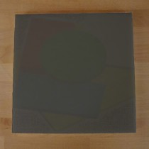 Chopping Board in Polyethylene square 40X40 cm slate-effect black - thickness 25 mm