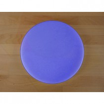 Chopping Board in Polyethylene round diameter 30 cm blue - thickness 25 mm