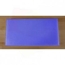 Chopping Board in Polyethylene rectangular 40X80 cm blue - thickness 80 mm