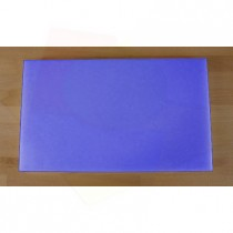 Chopping Board in Polyethylene rectangular 30X50 cm blue - thickness 40 mm