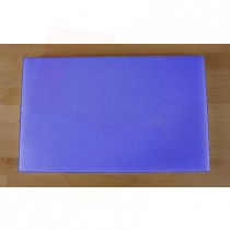 Chopping Board in Polyethylene rectangular 50X80 cm blue - thickness 100 mm