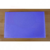 Chopping Board in Polyethylene rectangular 40X60 cm blue - thickness 80 mm