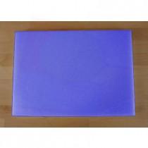 Chopping Board in Polyethylene rectangular 50X70 cm blue - thickness 80 mm