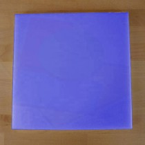 Chopping Board in Polyethylene square 40X40 cm blue - thickness 25 mm
