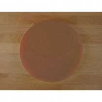 Chopping Board in Polyethylene round diameter 30 cm brown - thickness 25 mm