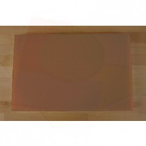 Chopping Board in Polyethylene rectangular 40X60 cm brown - thickness 80 mm