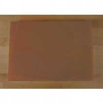 Chopping Board in Polyethylene rectangular 50X70 cm brown - thickness 80 mm