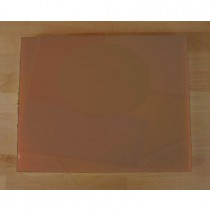 Chopping Board in Polyethylene rectangular 40X50 cm brown - thickness 10 mm