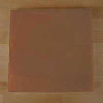 Chopping Board in Polyethylene square 60X60 cm brown - thickness 100 mm