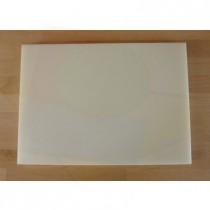 Chopping Board in Polyethylene rectangular 50X70 cm white - thickness 80 mm
