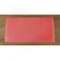 Chopping Board in Polyethylene rectangular 40X80 cm red - thickness 15 mm
