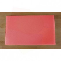 Chopping Board in Polyethylene rectangular 30X50 cm red - thickness 10 mm