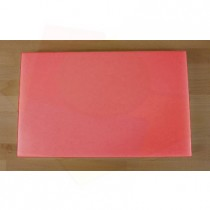 Chopping Board in Polyethylene rectangular 50X80 cm red - thickness 25 mm