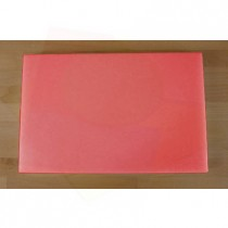 Chopping Board in Polyethylene rectangular 40X60 cm red - thickness 25 mm