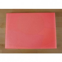 Chopping Board in Polyethylene rectangular 50X70 cm red - thickness 25 mm