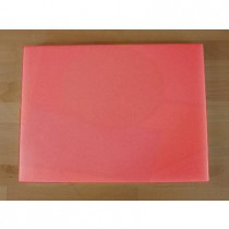 Chopping Board in Polyethylene rectangular 30X40 cm red - thickness 60 mm