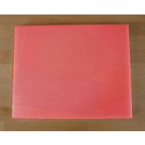 Chopping Board in Polyethylene rectangular 40X50 cm red - thickness 25 mm