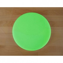 Chopping Board in Polyethylene round diameter 30 cm green - thickness 10 mm