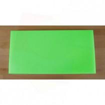 Chopping Board in Polyethylene rectangular 40X80 cm green - thickness 80 mm