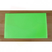 Chopping Board in Polyethylene rectangular 30X50 cm green - thickness 10 mm