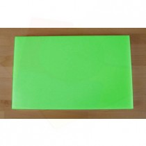 Chopping Board in Polyethylene rectangular 50X80 cm green - thickness 100 mm