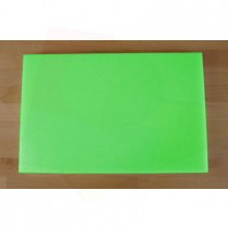 Chopping Board in Polyethylene rectangular 40X60 cm green - thickness 40 mm
