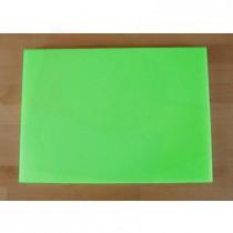 Chopping Board in Polyethylene rectangular 50X70 cm green - thickness 80 mm