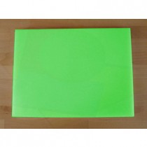 Chopping Board in Polyethylene rectangular 30X40 cm green - thickness 60 mm