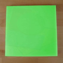 Chopping Board in Polyethylene square 40X40 cm green - thickness 10 mm