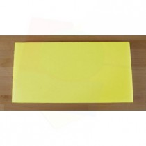 Chopping Board in Polyethylene rectangular 40X80 cm yellow - thickness 80 mm