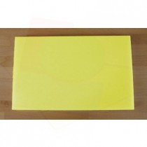 Chopping Board in Polyethylene rectangular 50X80 cm yellow - thickness 100 mm