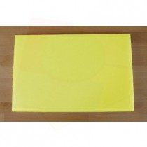Chopping Board in Polyethylene rectangular 40X60 cm yellow - thickness 80 mm
