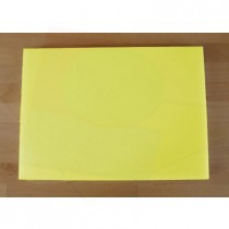 Chopping Board in Polyethylene rectangular 50X70 cm yellow - thickness 80 mm