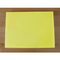 Chopping Board in Polyethylene rectangular 30X40 cm yellow - thickness 10 mm
