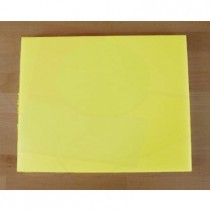 Chopping Board in Polyethylene rectangular 40X50 cm yellow - thickness 30 mm