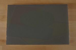 Chopping Board in Polyethylene rectangular 40X60 cm slate-effect black - thickness 15 mm