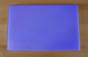 Chopping Board in Polyethylene rectangular 40X60 cm blue - thickness 15 mm