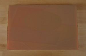 Chopping Board in Polyethylene rectangular 40X60 cm brown - thickness 15 mm