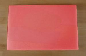 Chopping Board in Polyethylene rectangular 40X60 cm red - thickness 15 mm